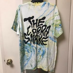 The Cobra Snake Marble Tie Dyed Tee